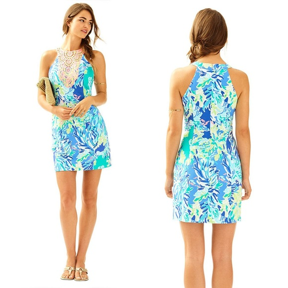 1675a4232d4e3a Lilly Pulitzer Dresses | Womens Size 16 Pearl Shift Dress | Poshmark